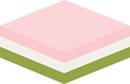 菱餅 緑から_130