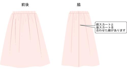 スカート 出来上がり_2