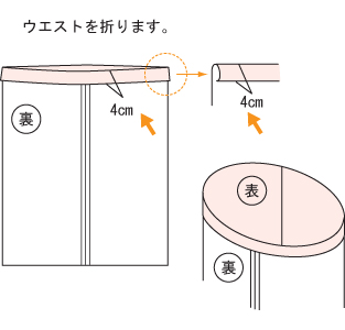 スカート 縫製5
