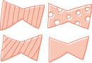 蝶ネクタイ作り方は簡単!アレンジ自由自在!