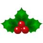 クリスマス 飾り ひいらぎ