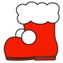 クリスマス 飾り 靴下_2