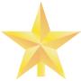 クリスマス 飾り 星