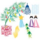 七夕飾り作り方は!簡単!折り紙で作る飾りには